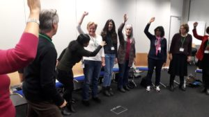 Fun and raised voices at the last ELTAS workshop for 2017