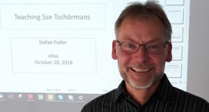 Teaching English to Sse Tschörmanns with Stefan Fodor