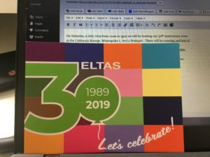Let's celebrate 30 years at the ELTAS Anniversary Brunch
